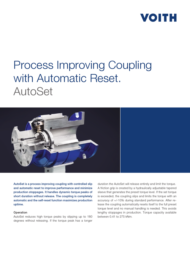 Improved Productivity in Levelling. Process improving coupling with automatic reset | AutoSet