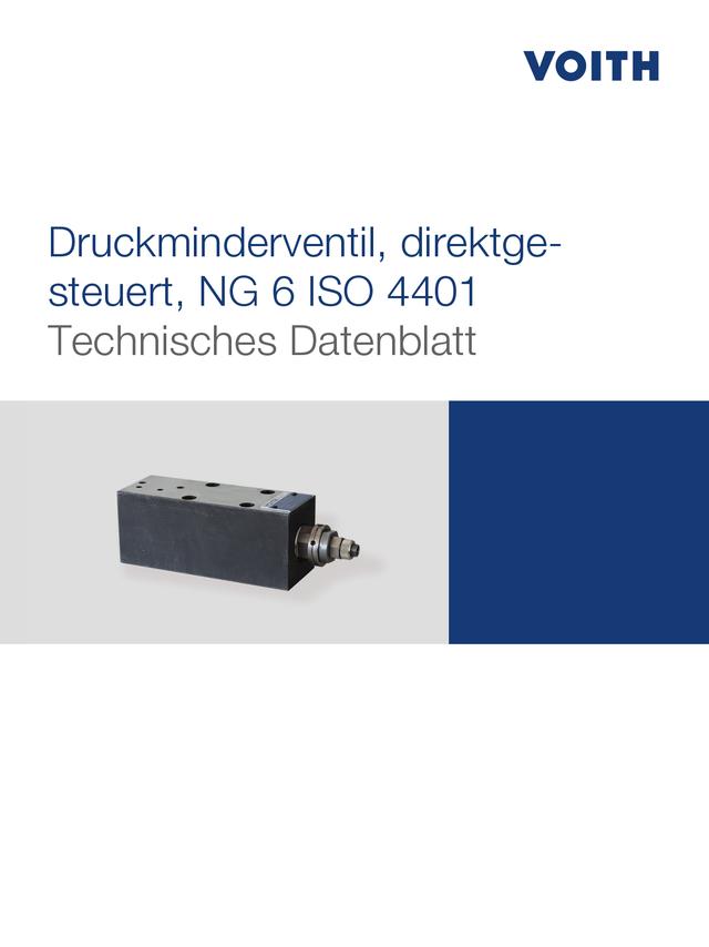 Druckminderventil, direktgesteuert, NG 6 ISO 4401