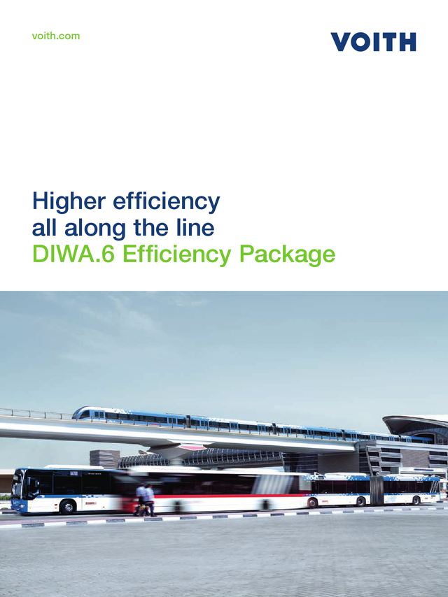 Higher efficiency all along the line. DIWA.6 Efficiency Package