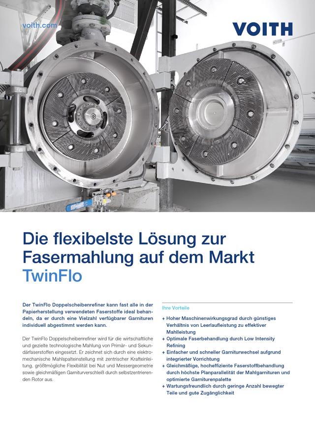 Die flexibelste Lösung zur Fasermahlung auf dem Markt – TwinFlo