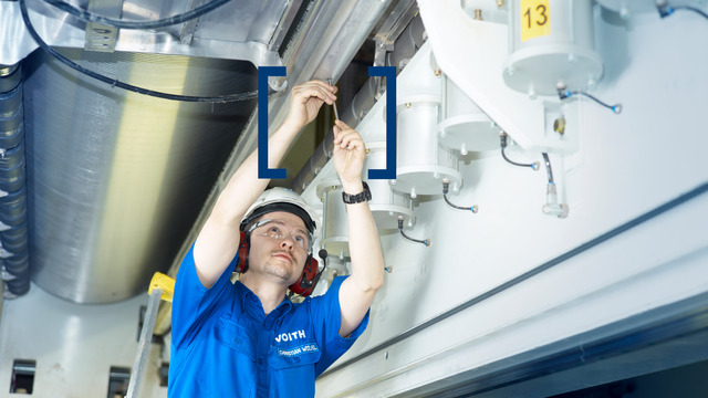 Equipment services for the paper industry by Voith