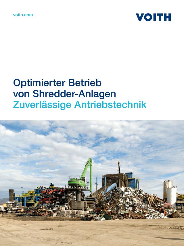 Optimierter Betrieb von Shredder-Anlagen