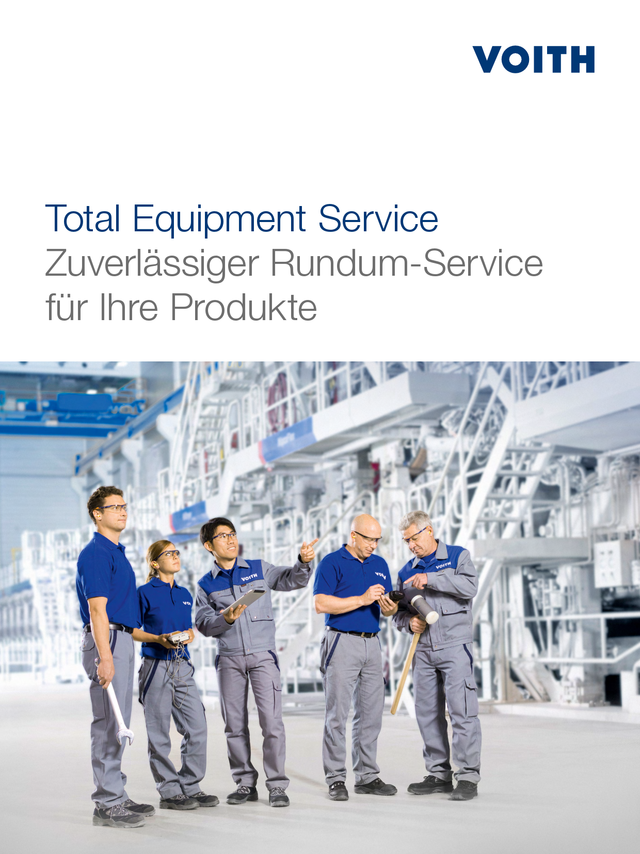 Total Equipment Service - Reliable all-round service for your requirements