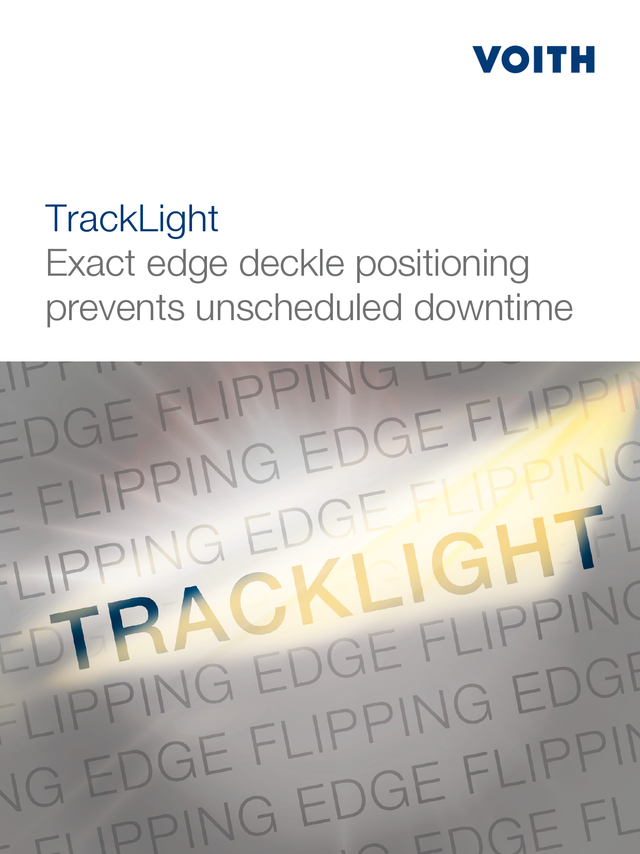 TrackLight – Exact deckle positioning prevents unscheduled downtime