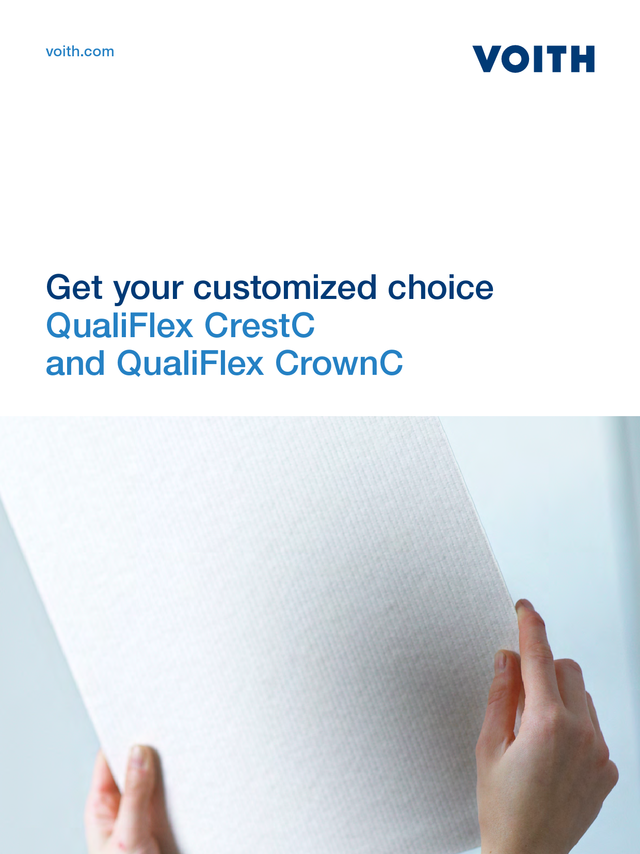QualiFlex CrestC and QualiFlex CrownC - Get your customized choice