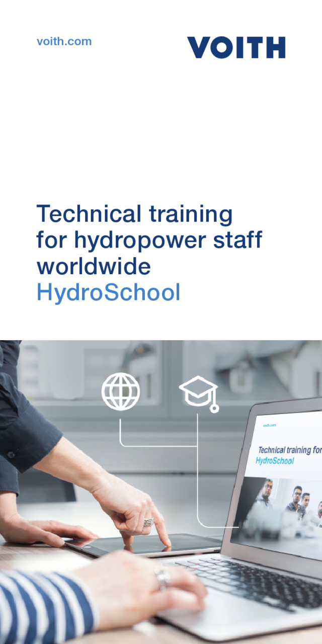 Technical training for hydropower staff worldwide