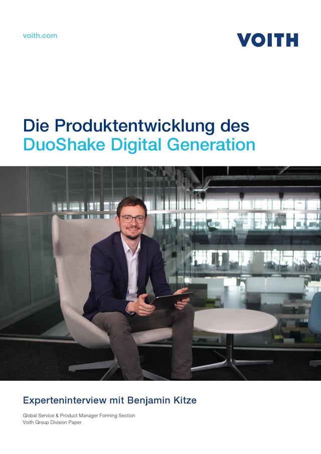 Die Produktentwicklung des DuoShake Digital Generation