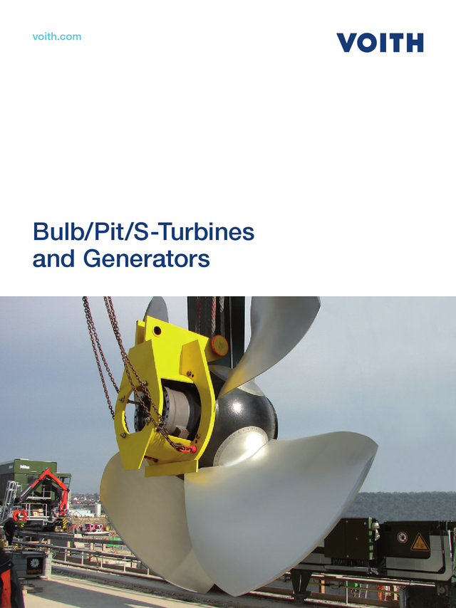 Bulb/Pit/S-Turbines and Generators