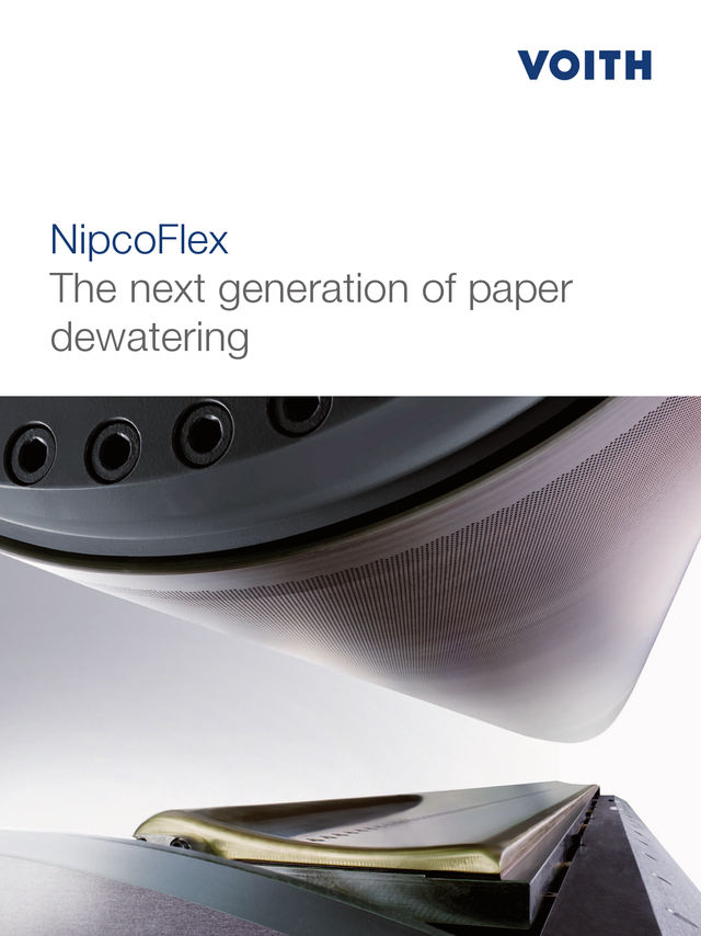NipcoFlex – The next generation of paper dewatering