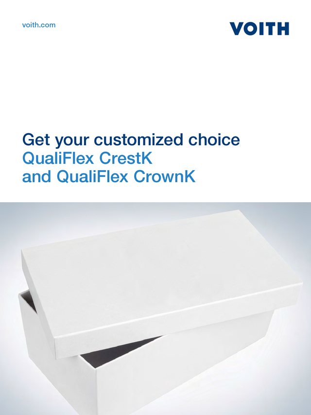 QualiFlex CrestK and QualiFlex CrownK - Get your customized choice