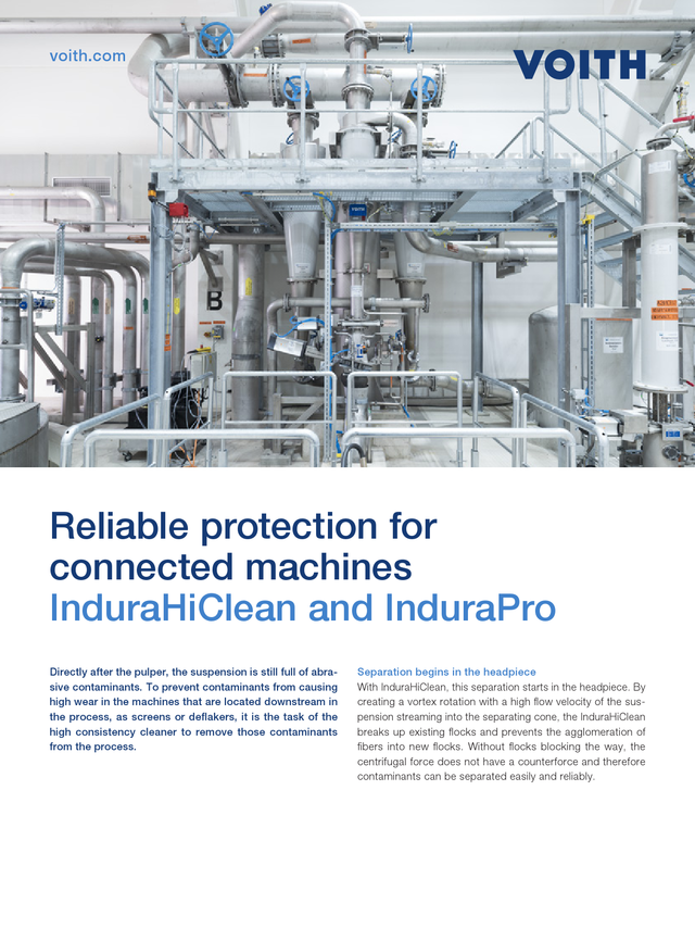 Reliable protection for connected machines – InduraHiClean and InduraPro