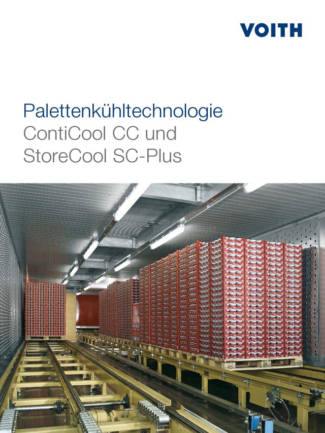 Palettenkühltechnologie - ContiCool CC und StoreCool SC-Plus