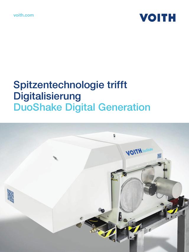 Spitzentechnologie trifft Digitalisierung - DuoShake DG