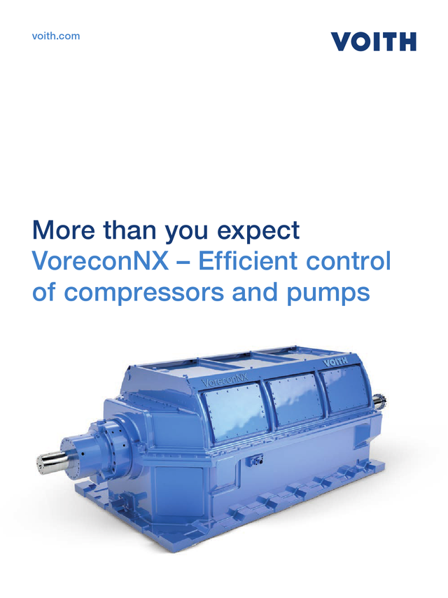 More than you expect. VoreconNX - efficient control of compressors and pumps