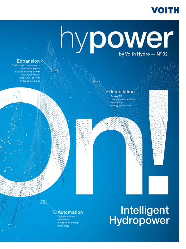 hypower, customer magazine by Voith Hydro