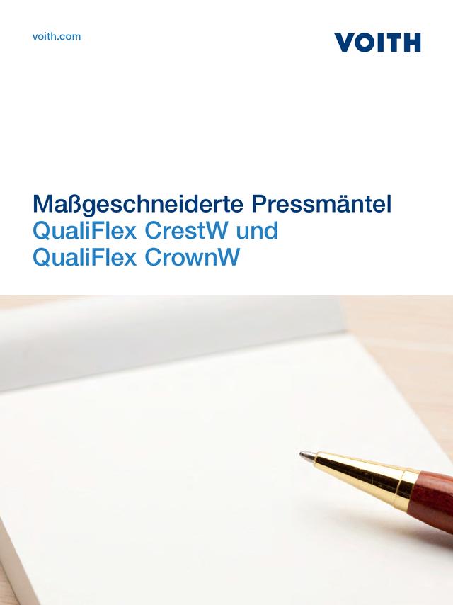 QualiFlex CrestW and QualiFlex CrownW - Maßgeschneiderte Pressmäntel