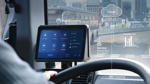 Pilotfish offers an open Vehicle Communication Platform and Fleet Management Applications to Public Transport Customers.