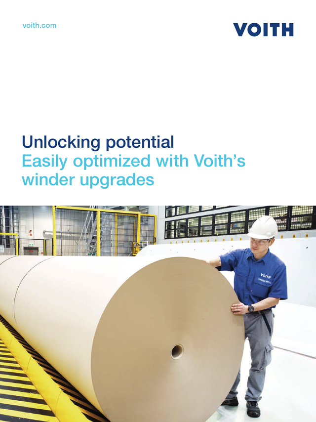 Unlocking potential – Easily optimized with Voith's winder upgrades