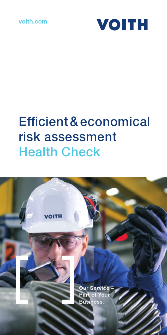 Health Check - Efficient & economical risk assessment