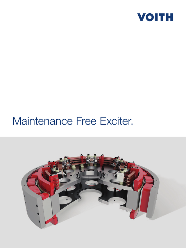 Maintenance Free Exciter