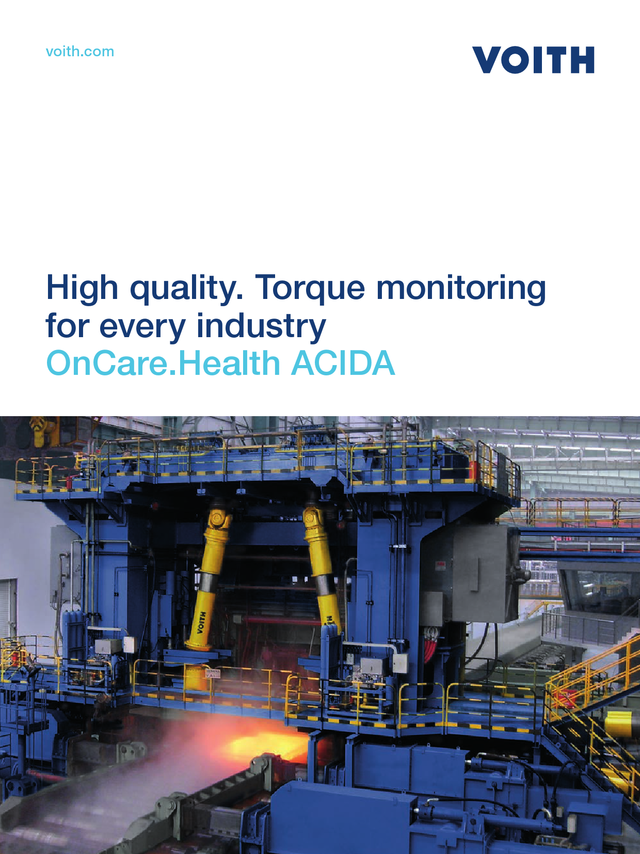 High quality. Torque Monitoring for every industry - OnCare.Health ACIDA