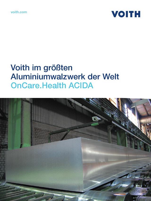 Voith im größten Aluminiumwalzwerk der Welt - OnCare.Health ACIDA