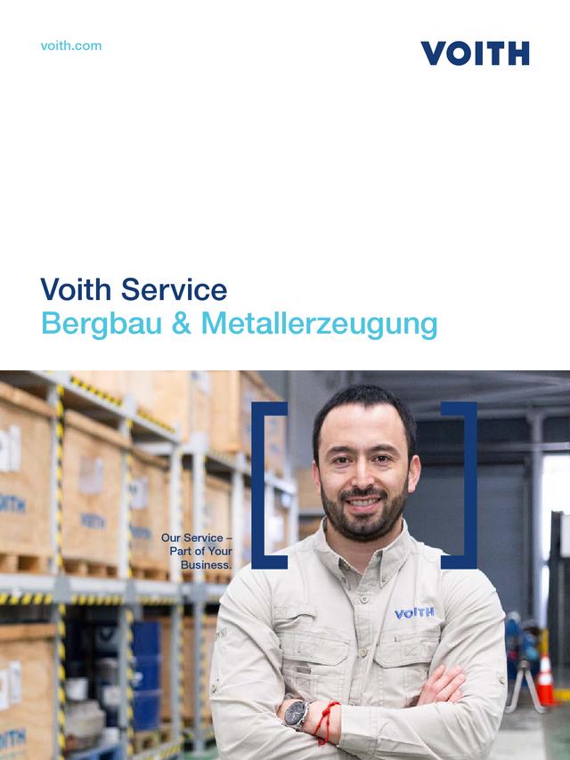 Voith Service − Bergbau & Metallerzeugung