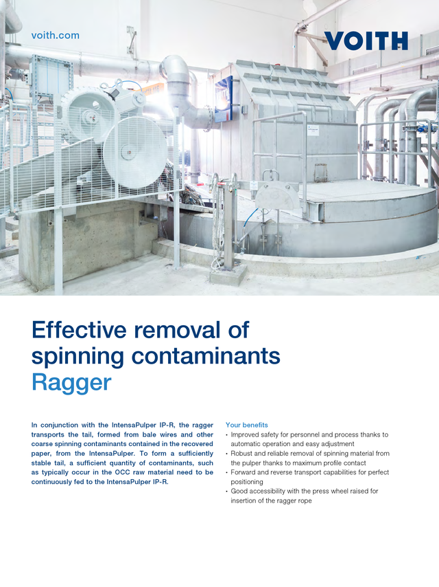 Effective removal of spinning contaminants – Ragger