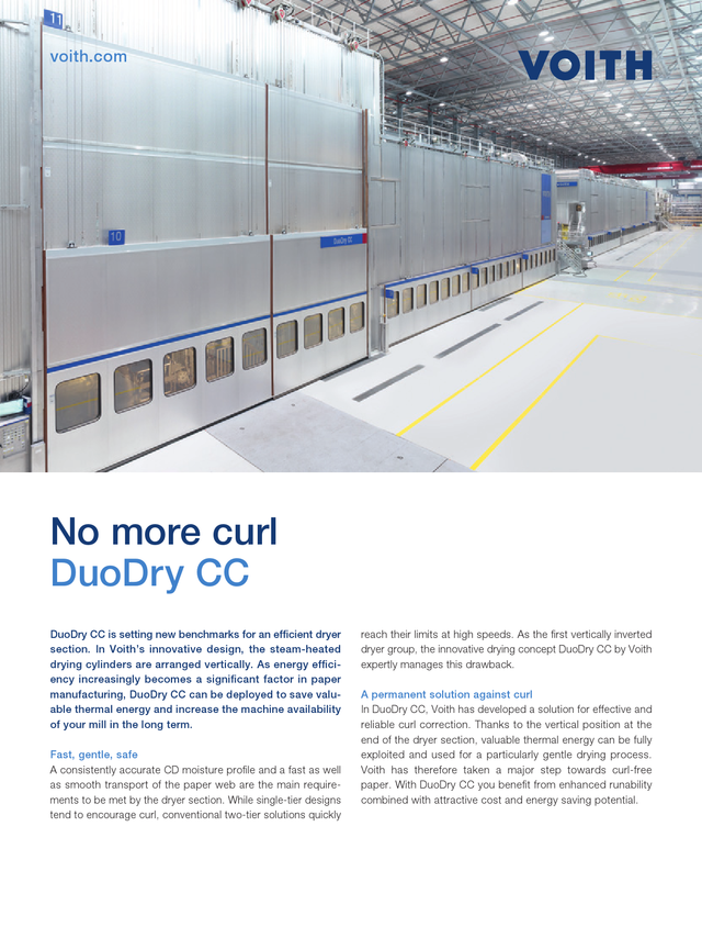No more curl – DuoDry CC