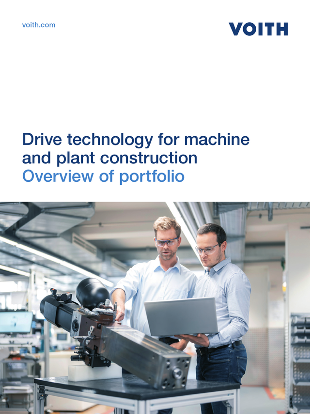Drive technology for machine and plant construction - Overview of portfolio