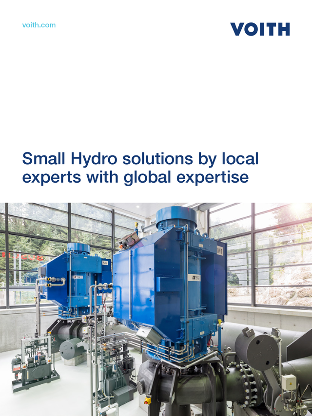 Small Hydro solutions by local experts with global expertise