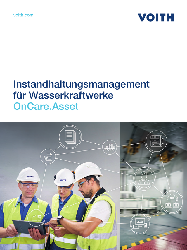 Instandhaltungsmanagement für Wasserkraftwerke OnCare.Asset