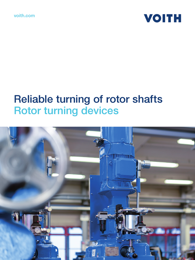 Reliable turning devices - Rotor turning devices