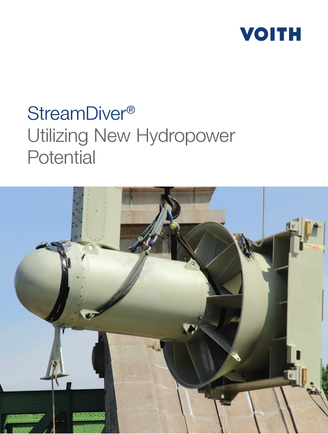StreamDiver Utilizing New Hydropower Potential