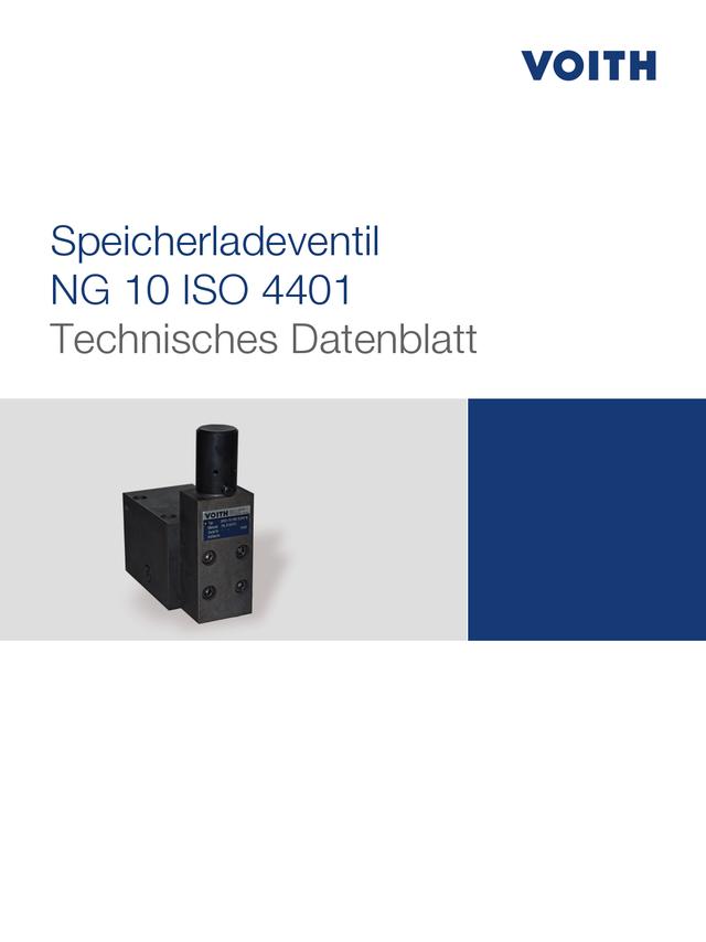 Speicherladenventil NG 10 ISO 4401