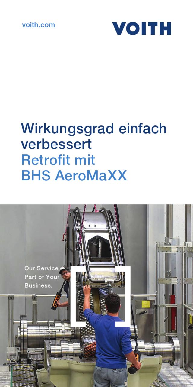 Wirkungsgrad einfach verbessert-Retrofit mit BHS AeroMaXX