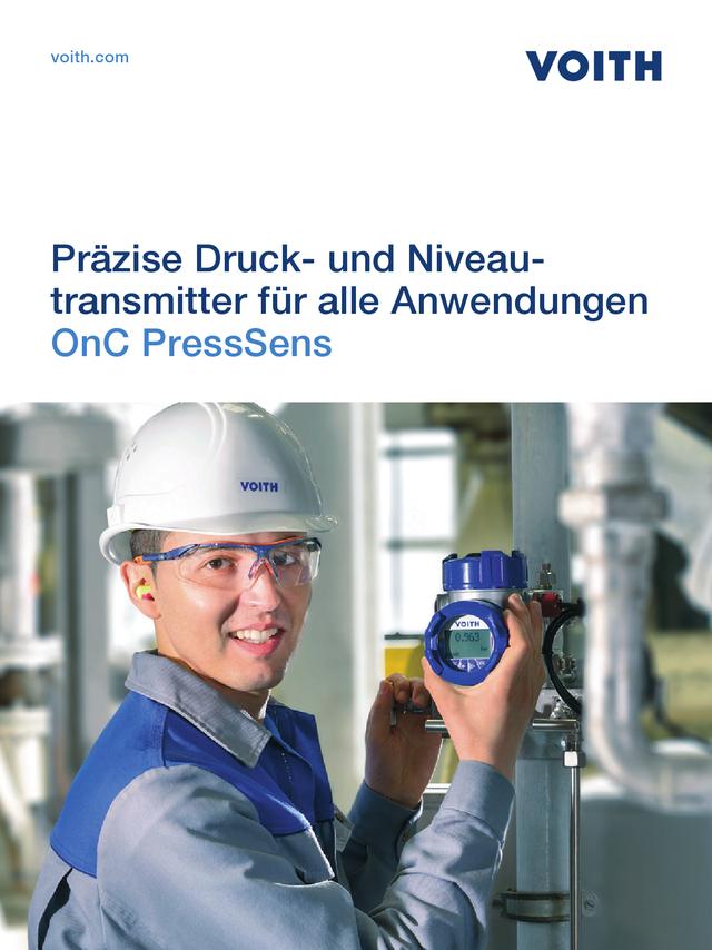 Präzise Druck- und Niveautransmitter für alle Anwendungen - OnC PressSens