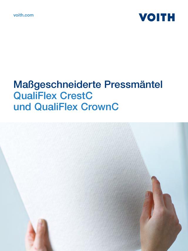 QualiFlex CrestC und QualiFlex CrownC - Maßgeschneiderte Pressmäntel