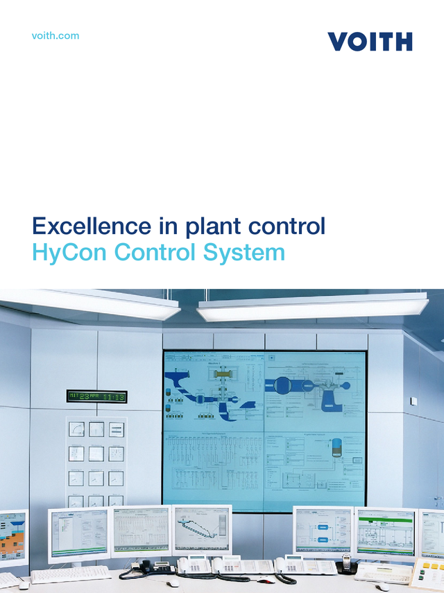 Excellence in plant control - HyCon Control System