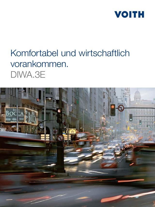 Komfortabel und wirtschaftlich vorankommen. DIWA.3E