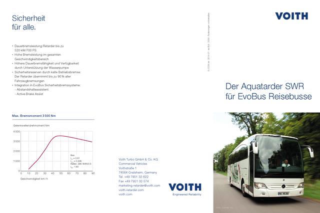 Der Aquatarder SWR für EvoBus Reisebusse