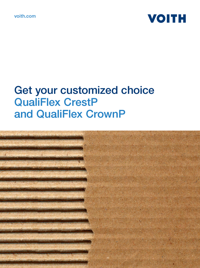 QualiFlex CrestP and QualiFlex CrownP - Get your customized choice