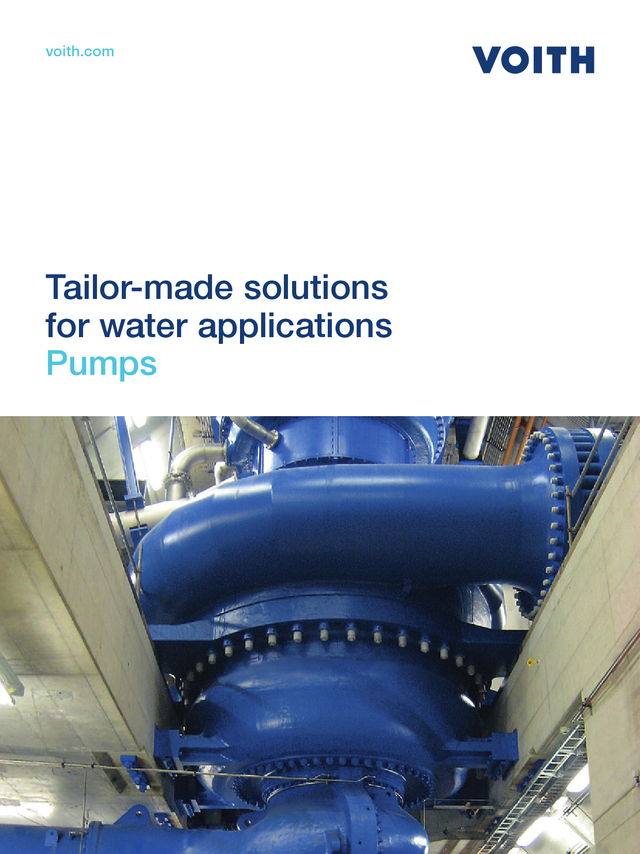 Tailor-made solutions for water applications – Pumps